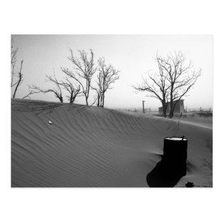 Dust Bowl Farm - Western Oklahoma 1936 Postcard