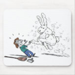 Dust Bunny Mouse Pad