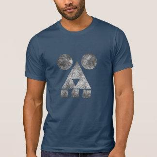 Dust creepy face men's dark tshirt HQH