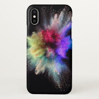 Dust explosion phone case