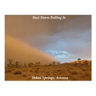 Dust Storm Postcard