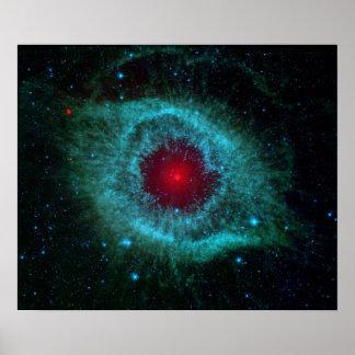 Dust & the Helix Nebula Poster