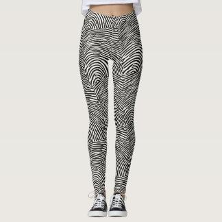 Dusted for prints leggings