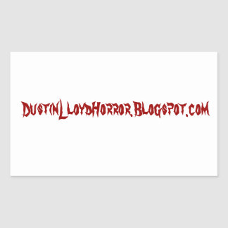 Dustin Lloyd Blogspot Sticker