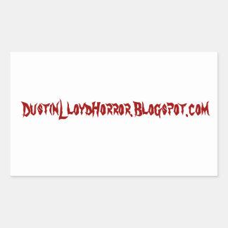 Dustin Lloyd Blogspot Sticker