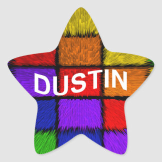 DUSTIN STAR STICKER
