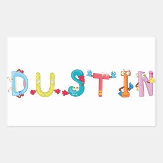 Dustin Sticker
