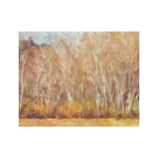 """""""Dusty Aspens"""" by Leslie Harlow Canvas Print"""