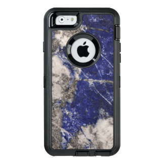 Dusty Blue Granite OtterBox Defender iPhone Case