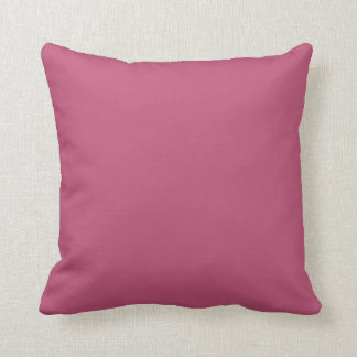Dusty Cedar Pink Vintage Rose 2015 Color Trend Cushion