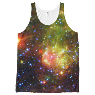 Dusty death of massive star NASA All-Over Print Singlet