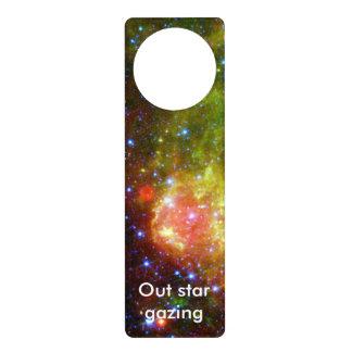 Dusty death of massive star NASA Door Knob Hanger