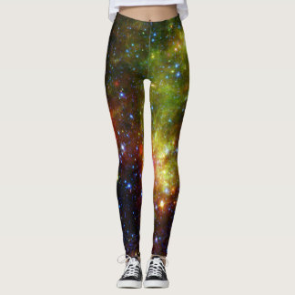 Dusty death of massive star NASA Leggings