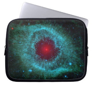 Dusty Eye of Helix Nebula NGC 7293 Laptop Sleeve
