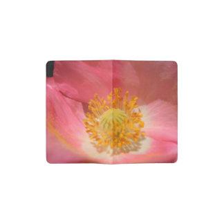 Dusty Pink Colored Poppy Pocket Moleskine Notebook