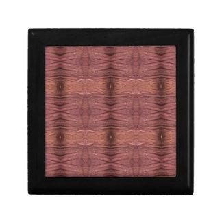 Dusty Rose Burgundy Modern Funky Pattern Gift Box