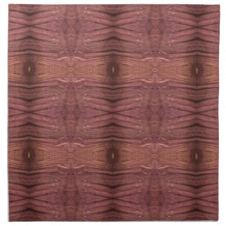 Dusty Rose Burgundy Modern Funky Pattern Napkin