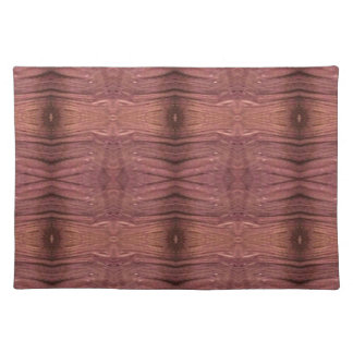 Dusty Rose Burgundy Modern Funky Pattern Placemat