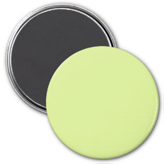 Dusty Yellow Vintage Pale Green 2015 Color Trend Magnet