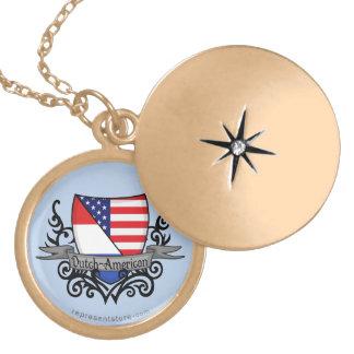 Dutch-American Shield Flag Jewelry