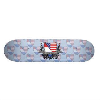 Dutch-American Shield Flag Skateboards
