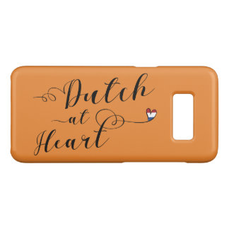 Dutch At Heart Mobile Phone Case, Holland Case-Mate Samsung Galaxy S8 Case