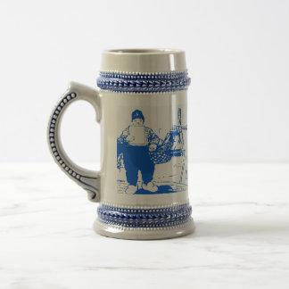 Dutch Boy By Windmill Beer Stein