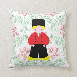 Dutch boy throw cushions
