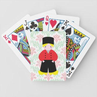 Dutch boy playing cards