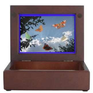 Dutch Butterflies Keepsake Box