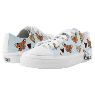 Dutch Butterflies Zipz Low Top Shoes