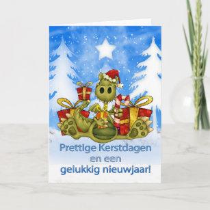Dutch christmas cards zazzle dutch christmas card cute dragon prettige kers m4hsunfo
