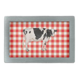 Dutch cow cutout belt buckles