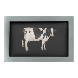 Dutch cow cutout belt buckles