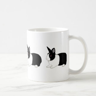 Dutch Crazy Basic White Mug
