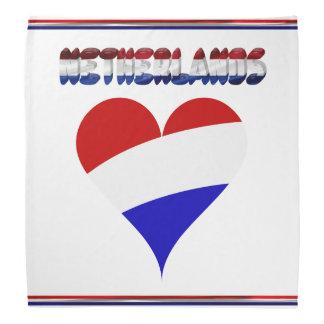 Dutch flag bandana