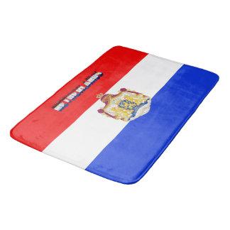 Dutch flag bath mat