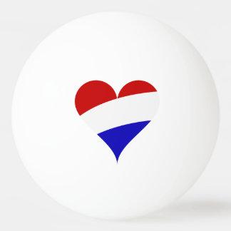 Dutch flag ping pong ball