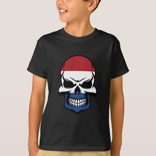 Dutch Flag Skull T-Shirt