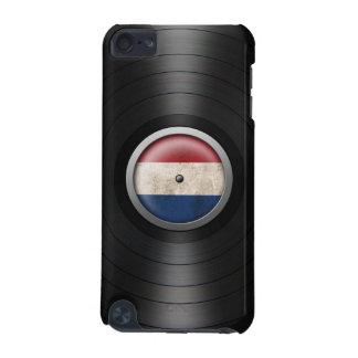 Dutch Flag Vinyl Record Album Graphic iPod Touch (5th Generation) Cases
