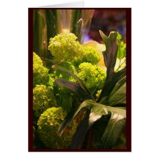 Dutch flowers card