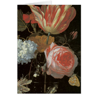 Dutch Flowers Fine Art Masterpiece Card