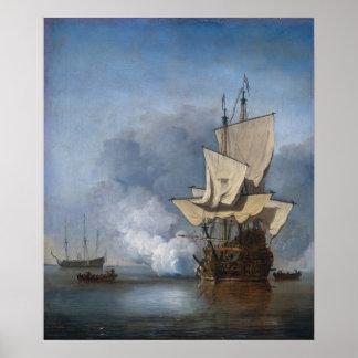 Dutch Frigate Poster