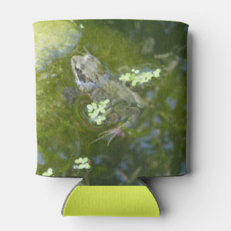 Dutch Frog with Duckweed Can Cooler