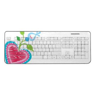 Dutch Garden Heart Wireless Keyboard