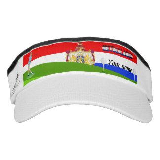 Dutch golfer visor