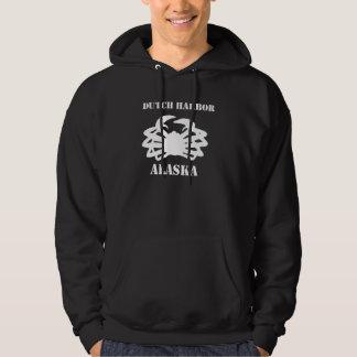 Dutch Harbor Alaska: Crab Fisherman Hoodies