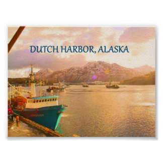 Dutch Harbor, Alaska Poster