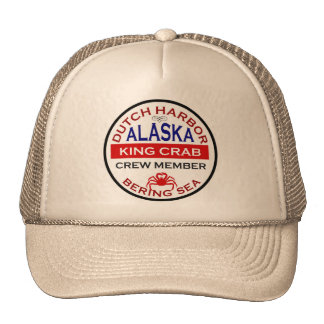 Dutch Harbor Alaskan King Crab Crew Member Cap