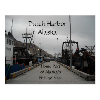 Dutch Harbor Spit Dock Postcard
